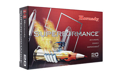 Hornady Superformance, 30-06, 165 Grain, SST, 20 Round Box 81153