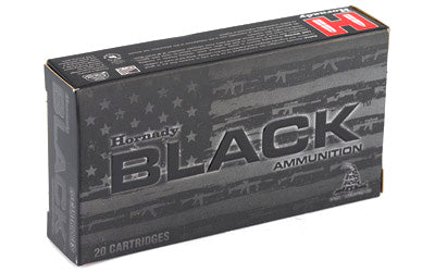 Hornady BLACK, 556NATO, 62 Grain, Full Metal Jacket, 20 Round Box 81263