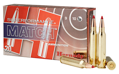 Hornady Superformance Match, 556NATO, 73 Grain, Boat tail Hollow Point, 20 Round Box 81268