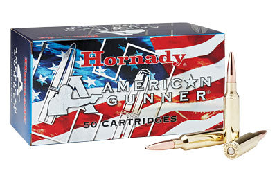 Hornady American Gunner, 6.5 CREEDMOOR, 140 Grain, Boat Tail Hollow Point, 50 Round Box 81482