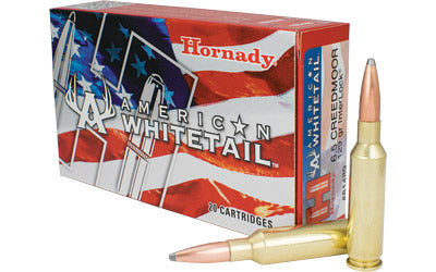 Hornady American Whitetail, 6.5 Creedmoor, 129 Grain, Interlock, 20 Round Box 81489