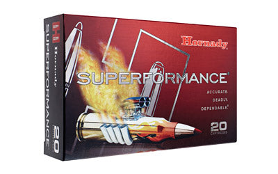 Hornady Superformance, 6.5 CREEDMOOR, 120 Grain, GMX, Lead Free, 20 Round Box 81490
