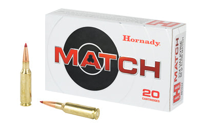 Hornady Match, 224 Valkyrie, 88 Grain, ELD Match, 20 Round Box 81534