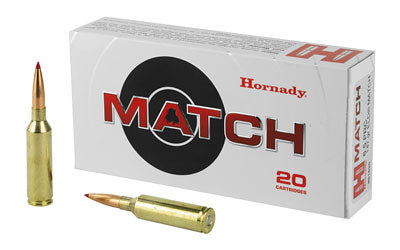 Hornady Match, 6.5 PRC, 147 Grain, ELD Match, 20 Round Box 81620