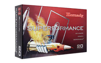 Hornady Superformance, 300 Win, 180 Grain, GMX, Lead Free, 20 Round Box 82196