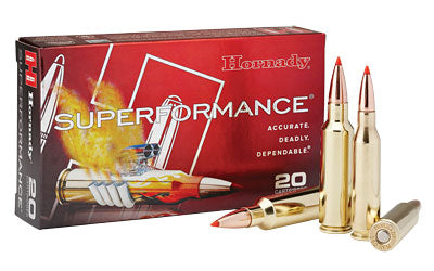 Hornady Superformance, 300 WSM, 165 Grain, GMX, 20 Round Box 82206