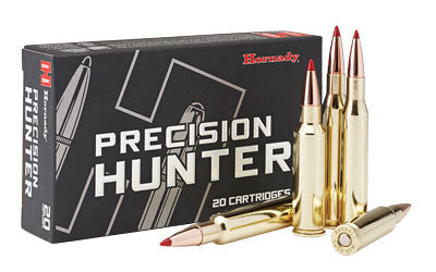 Hornady Precision Hunter, 300 Weatherby Magnum, 200 Grain, ELD-X, 20 Round Box 82213