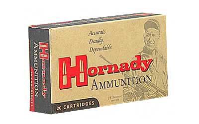 Hornady Custom, 338 Lapua, 250 Grain, Soft Point, 20 Round Box 82307