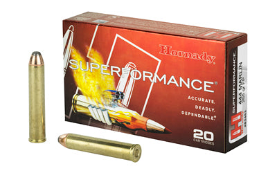 Hornady Superformance, 444 Marlin, 265 Grain, Interlock, Flat Point, 20 Round Box 82453