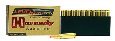 Hornady LeverEvolution, 308 Marlin Express, 160 Grain, FlexTip, 10 Round Box 82733