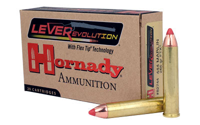 Hornady LeverEvolution, 444 Marlin, 265 Grain, FlexTip, 20 Round Box 82744