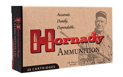 Hornady Custom, 22 Hornet, 45 Grain, Soft Point, 50 Round Box 83028
