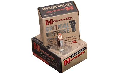 Hornady Critical Defense, 380ACP, 90 Grain, Hollow Point, 25 Round Boxund Box 90080