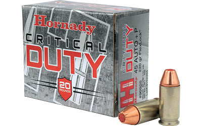 Hornady Critical Duty, 45ACP, 220 Grain, Hollow Point, 20 Round Box 90926