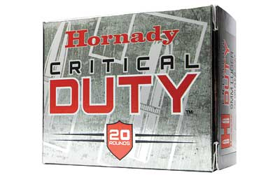 Hornady Critical Duty, 357 Sig, 135 Grain, FlexLock Duty, 20 Round Box 91296