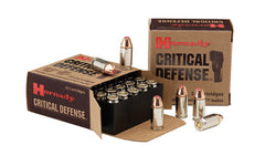 Hornady Critical Defense, 40S&W, 165 Grain, Hollow Point, 20 Round Box 91340