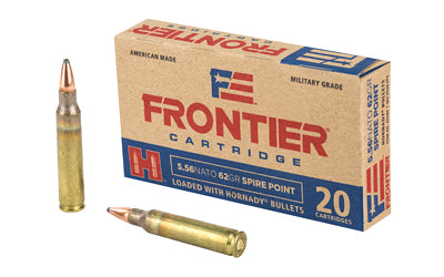 Frontier Cartridge Lake City, 556 NATO, 62 Grain, Spire Point, 20 Round Box FR280
