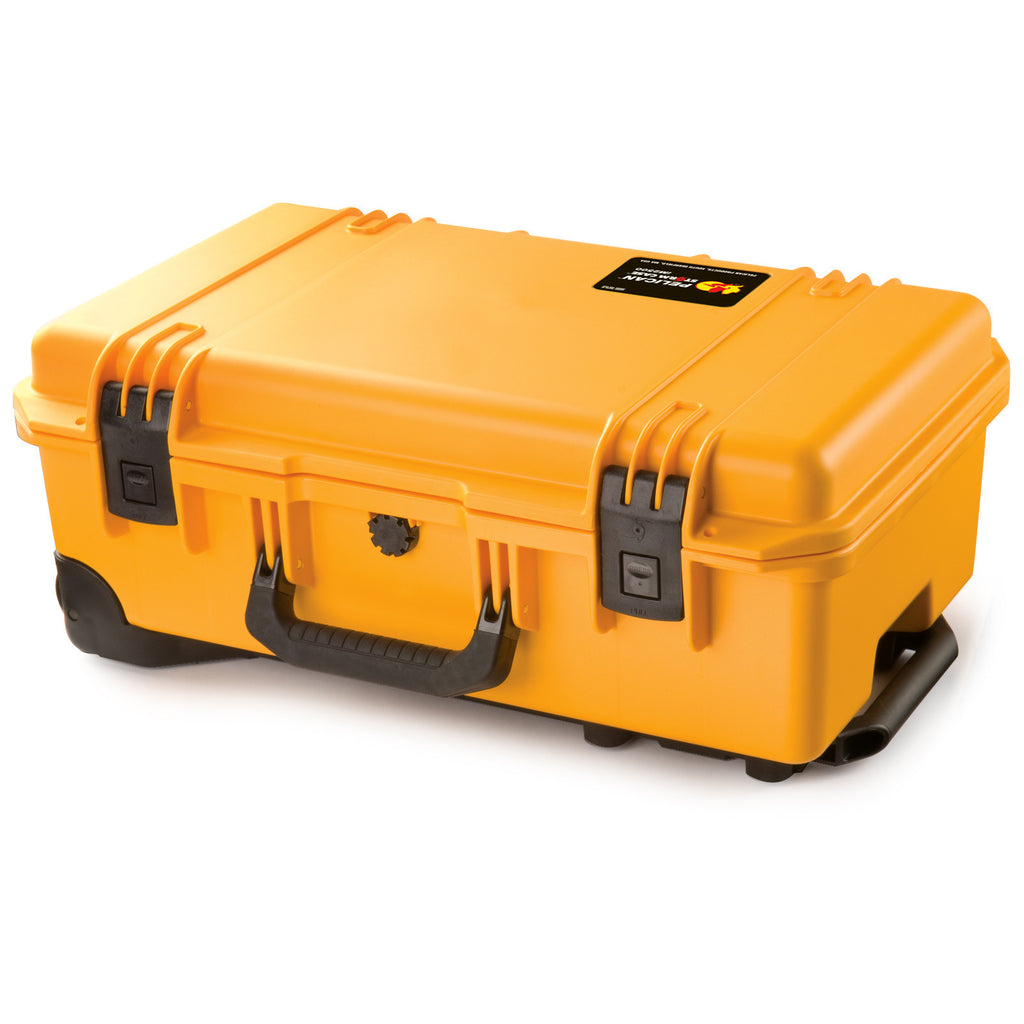 Pelican iM2500 Storm Case (Carry On Case) With Padded Dividers - Yellow