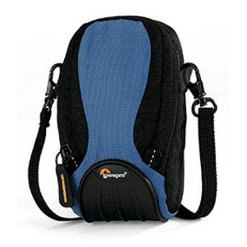 Lowepro Apex 30 AW All-Weather Camera Pouch - for Ultra-Compact Camera and Accessories (Arctic Blue)