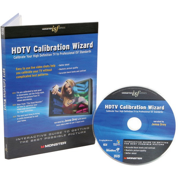 Monster Cable Isf Caldsk Hdtv Calibration Wizard Dvd