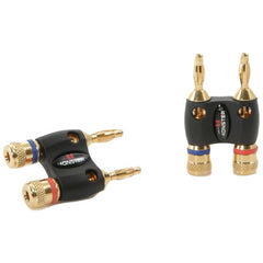 Monster Cable Mbd R-Ht Mkii Monster Home Theater(R) Dual Banana Speaker Cable Adapters