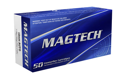 Magtech Sport Shooting, 10MM, 180 Grain, Full Metal Jacket, 50 Round Box 10A