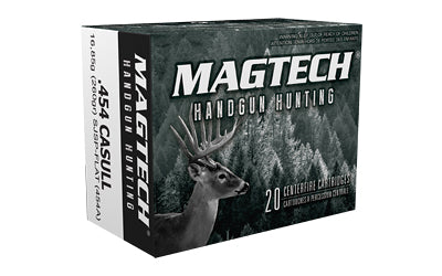 Magtech Sport Shooting, 454, 260 Grain, Semi Jacketed Soft Point, 20 Round Box 454A