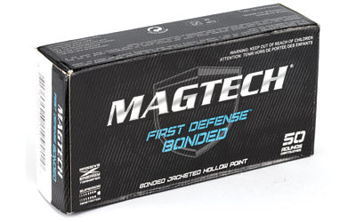 Magtech First Defense Bonded, 9MM 124 Grain, Bonded Hollow Point, 50 Round Box 9BONA