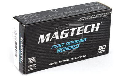 Magtech First Defense Bonded, 9MM 147 Grain, Bonded Hollow Point, 50 Round Box 9BONC