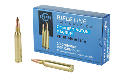 Prvi Partizan Rifle, 7MM Rem, 140 Grain, Pointed Soft Point, 20 Round Box PP7RM1