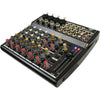 Pyle Pro Pexm1202 12-Channel Professional Audio Mixer With 3 Band Eq