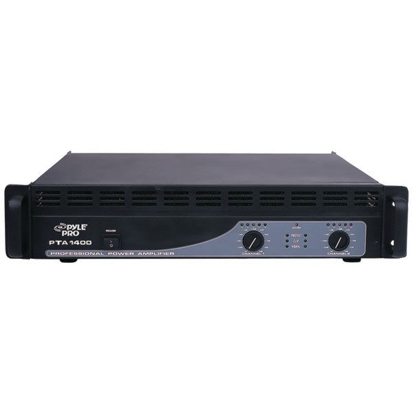 Pyle Pro Pta1400 Professional Power Amp (1,400 Watt)