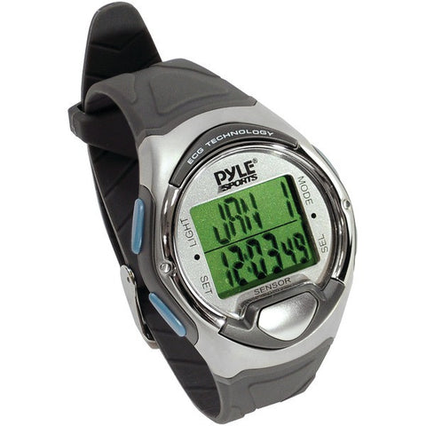 Pyle Pro Pecgw2 Digital Heart Rate Monitor Watch With Finger Touch