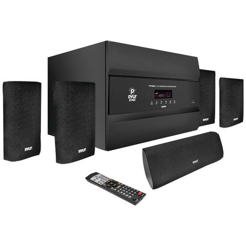 Pyle Pro Pt678Hba 5.1-Channel, 400-Watt Hdmi(R) Home Theater System With Bluetooth(R)