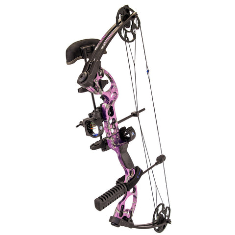 Quest Radical Bow Pkg. RT AP Purple 17.5-30in 70lb LH