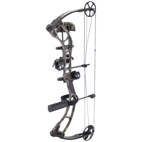 Quest Storm Bow Package Realtree Xtra/ Black 23-27 in. 60 lb. LH