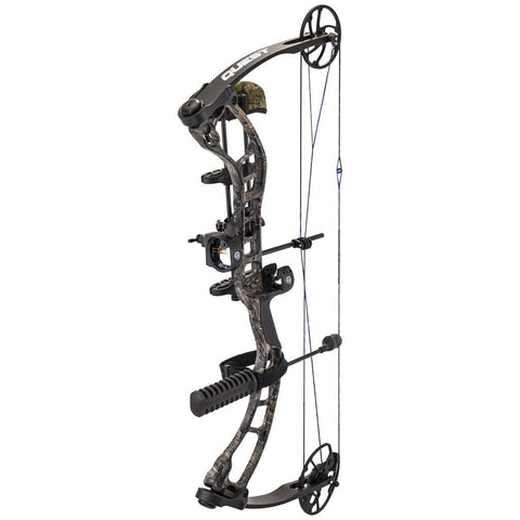 Quest Forge Bow Package Realtree Xtra/ Black 26-30 in. 70 lb. LH