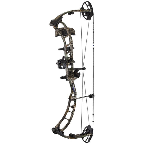 """October Mountain Passage Recurve Bow Package 54/"""" 20 Lb Left Hand"""