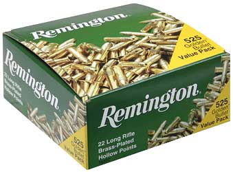 Remington Bulk, 22LR, 36 Grain, Hollow Point, 525 Round Brick 21250