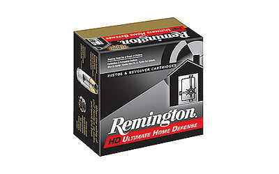 Remington Ultimate Defense, 45ACP, 230 Grain, Brass Jacketed Hollow Point, 20 Round Box 28942