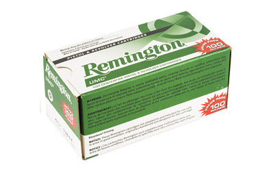 Remington UMC, 40 S&W 180 Grain, Full Metal Jacket, Value Pack, 100 Round Box 23795