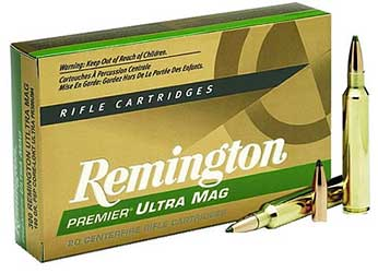 Remington Core Lokt, 7MM Short Action Ultra Mag, 150 Grain, Pointed Soft Point, 20 Round Box 27874
