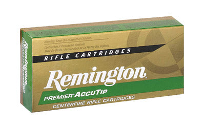 Remington Premier AccuTip, 22 Hornet, 35 Grain, AccuTip-V, 50 Round Box 29154