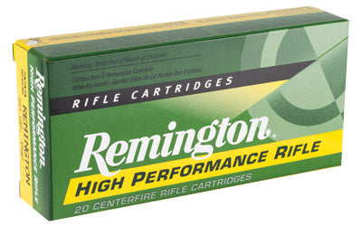 Remington Core Lokt, 222REM, 50 Grain, Pointed Soft Point, 20 Round Box 21303