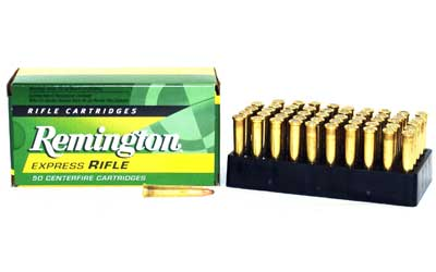 Remington Core Lokt, 22 Hornet, 45 Grain, Pointed Soft Point, 50 Round Box 28376