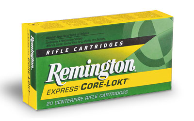 Remington Core Lokt, 30-06, 150 Grain, Pointed Soft Point, 20 Round Box 27826