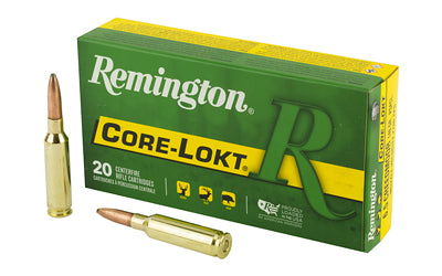 Remington Remington, 6.5 Creedmoor, 140, Pointed Soft Point, 20 Round Box 27657