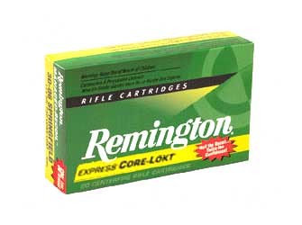 Remington Core Lokt, 762x39, 125 Grain, Pointed Soft Point, 20 Round Box 29125