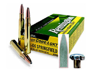 Remington Core Lokt, 7x57, 140 Grain, Pointed Soft Point, 20 Round Box 29031