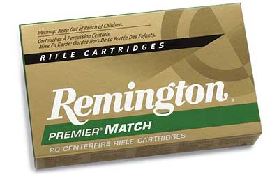 Remington Match, 6.8SPC, 115 Grain, Boat Tail Hollow Point, 20 Round Box 27676